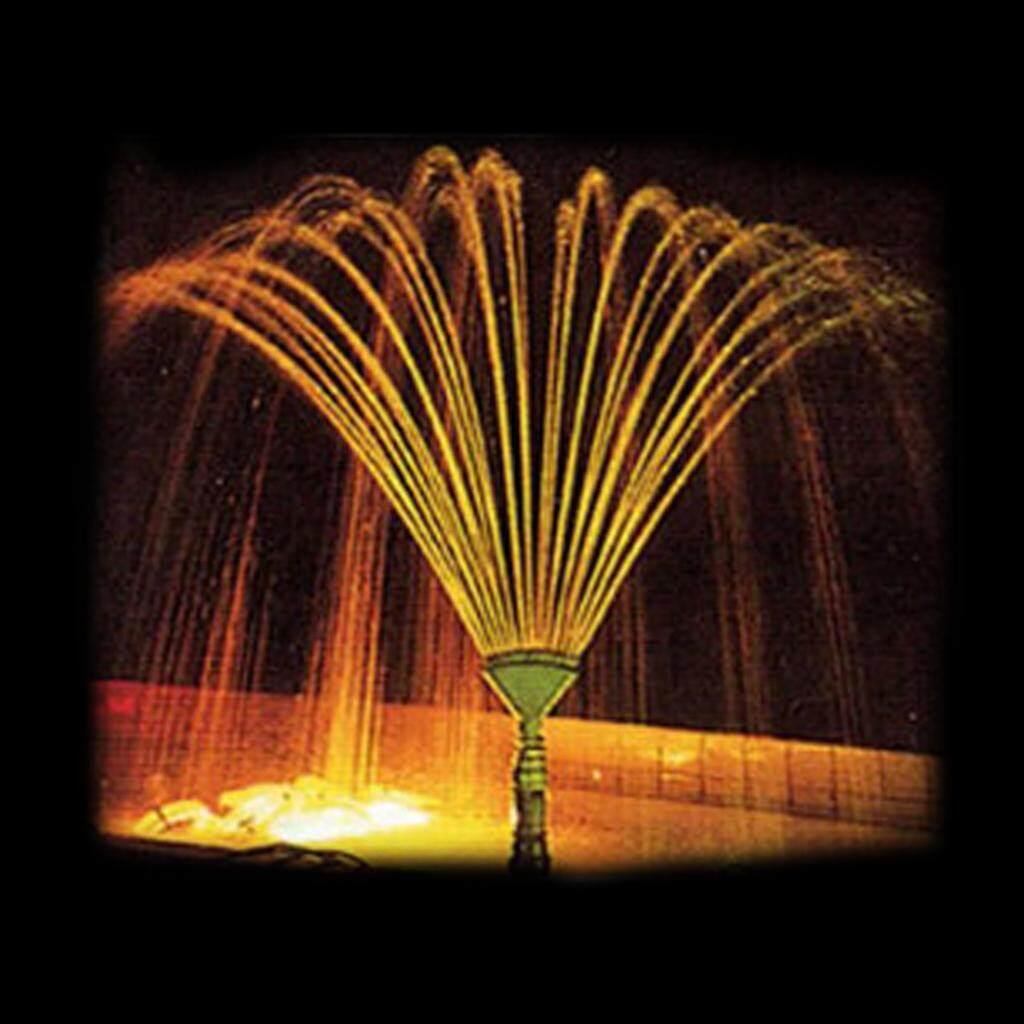 MagiDeal 2pcs Multi Direction Brass Garden Fountain Water Nozzle Sprinkler Spray Head