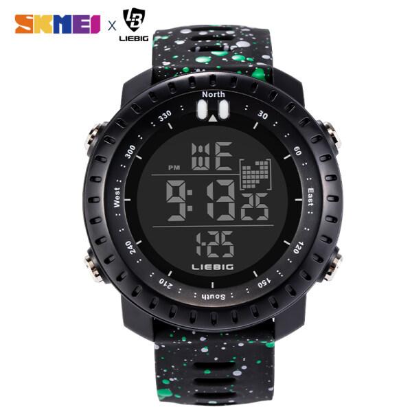 New SKMEI LIEBIG Men Sports Watches Waterproof Watches Countdown Watch Alarm Chrono Digital Wristwatches L927 Malaysia