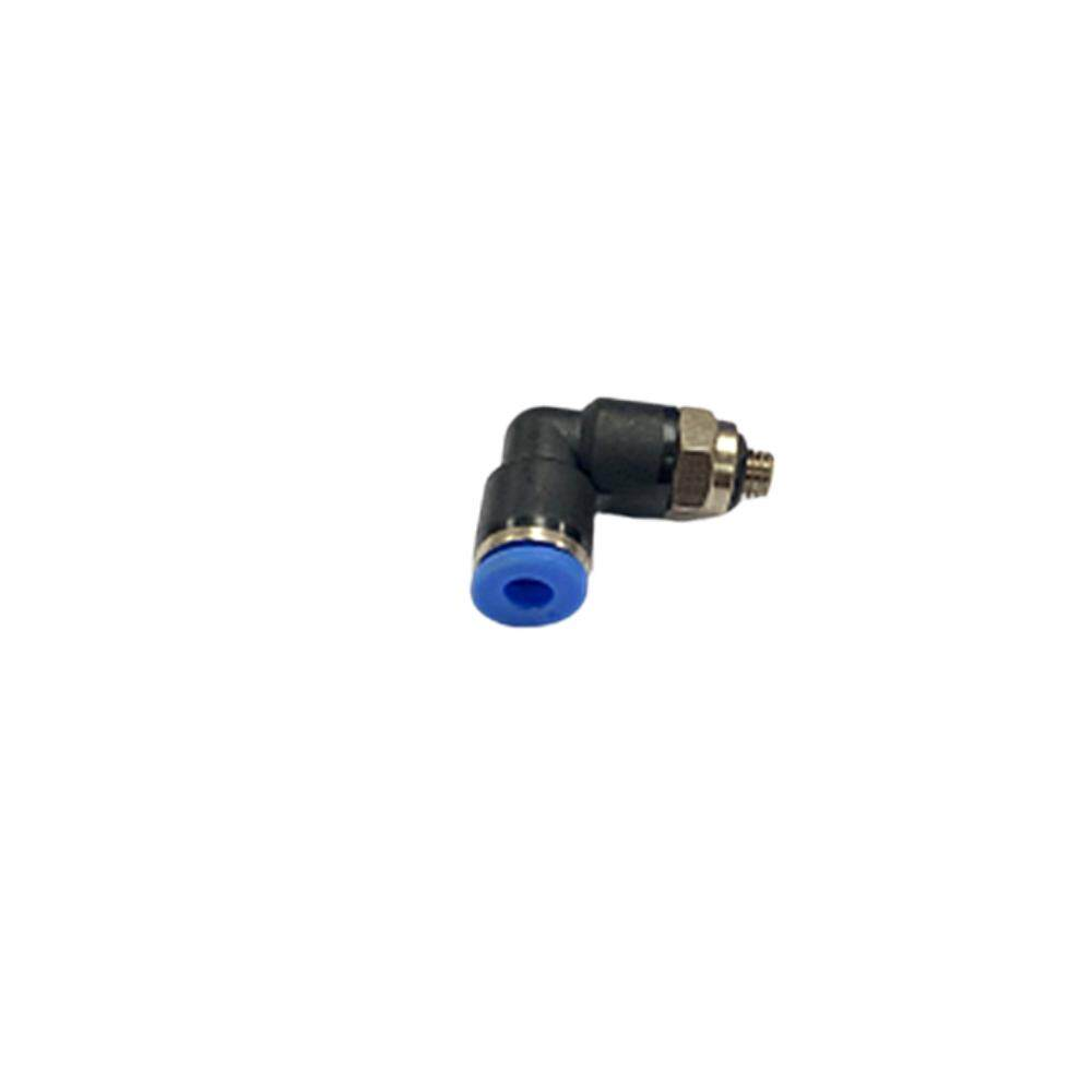 Pl04-M5 4mm X M5 Male Elbow Pneumatic Air Push In Quick Fittings By Hong Sheng Store.