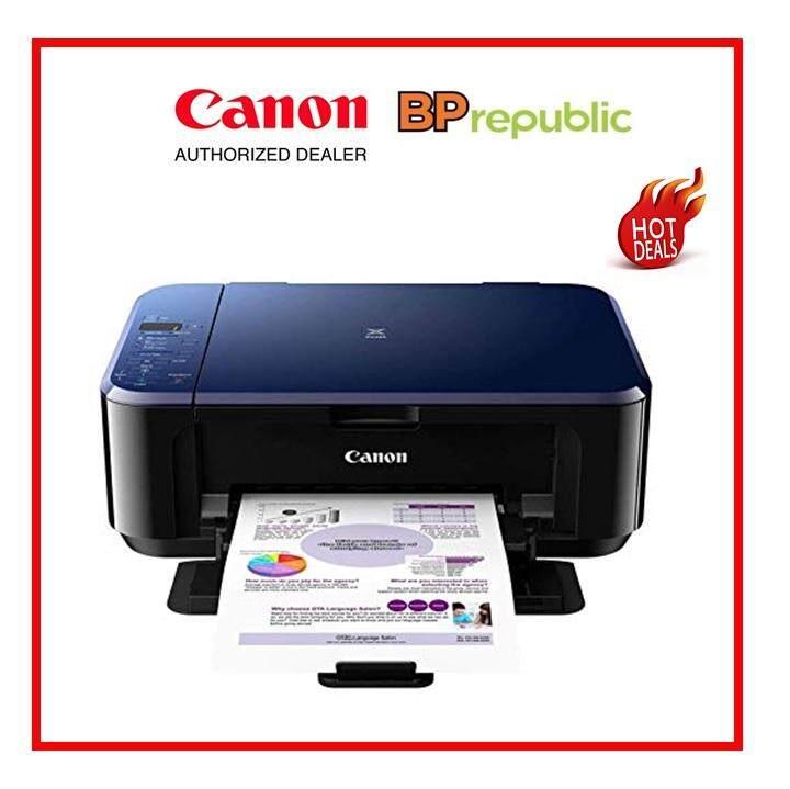 Canon PIXMA E510 Inkjet All-In-One Color Ink Printer