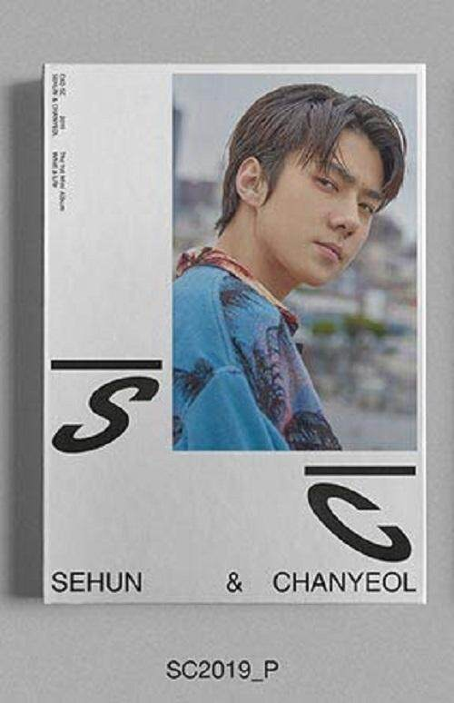 [SM] EXO SC Sehun & Chanyeol - What a Life [SC2019_P ver.] (1st Mini Album) 1 Album + 1 Folded Poster+ Store gift photocard - kpop