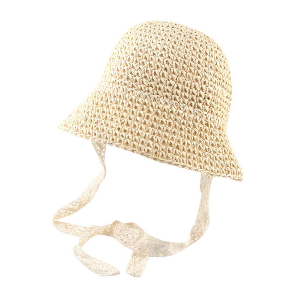 05a28d92a97ee9 SDFSDG SHOP 2019 Fashion Comfortable Summer Baby Girls Children Ribbons Breathable  Hat Straw Hat Kids Bucket