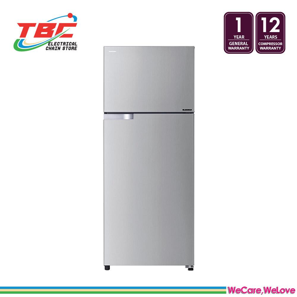 TOSHIBA GR-A48MBZ (RS) 480L Inverter 2 Doors Refrigerator/Fridge