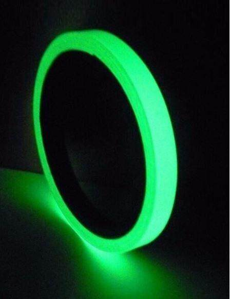[Ready Stock] Glow in the Dark Tape 5m x 1.5cm