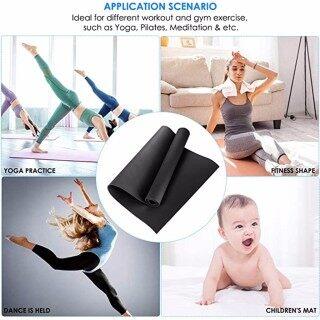 Thảm Yoga EVA Dày Bền 4MM, Đệm Tập Thể Dục Chống Trượt Mat ACCE thumbnail