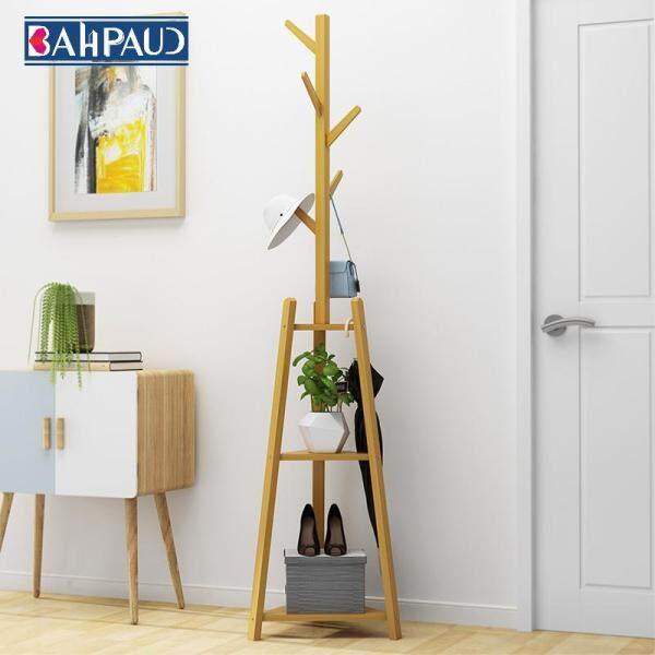 Bahpaud Wooden Coat Rack Cloth Hanger 177x40cm Bedroom Living Room Creative Simple Modern Hanging Clothes Rack