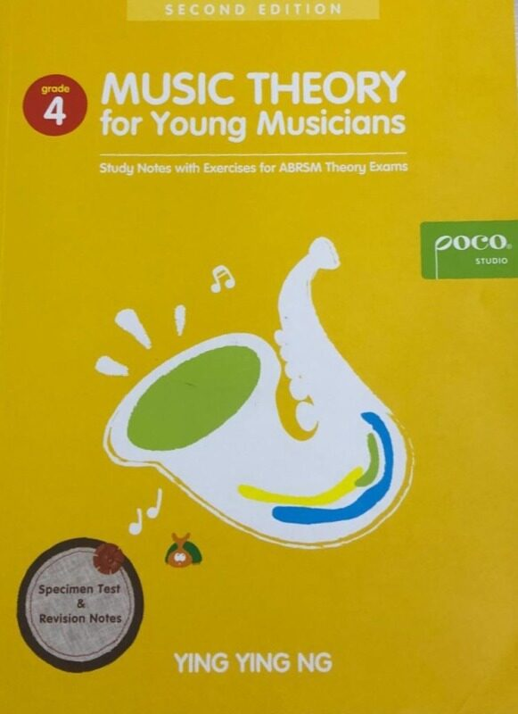 Poco Music Theory For Young Musicians Grade 4 (3rd Edition) Malaysia