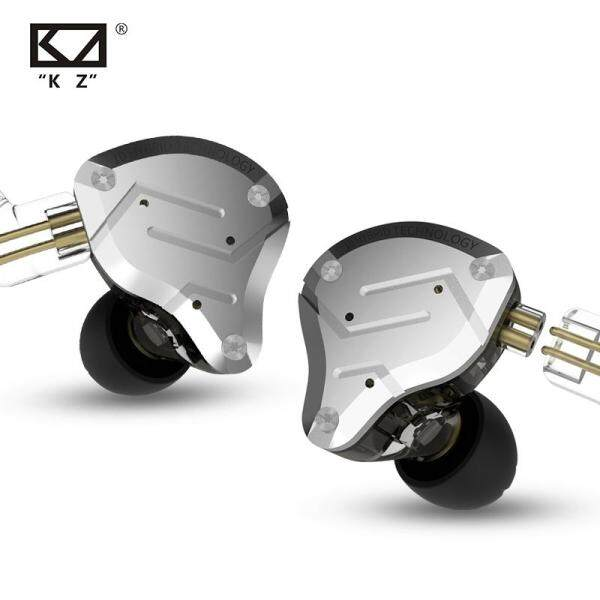KZ high appearance level ZS10PRO new good sound quality sports game popular music universal headphones, for xiaomi huawei apple  4BA+1DD Hybrid technology, headphone head cable separation, 0.75mmpin 3.5mm plug Singapore
