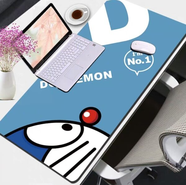 Cute Cartoon Hello Kitty Doraemon Mousepad Large Mouse Pad Multi Functional Desktop Table Keyboard Office Home Desk Pad Malaysia