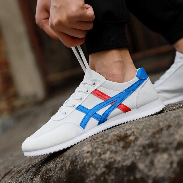 Giày Vải Mới Mùa Xuân Giày Nam Thường Ngày Hội Đồng Quản Trị Giày Người Đàn Ông Của Giày Giày Thể Thao Forrest Đơn Hàn Quốc Xu Hướng Giày giá rẻ