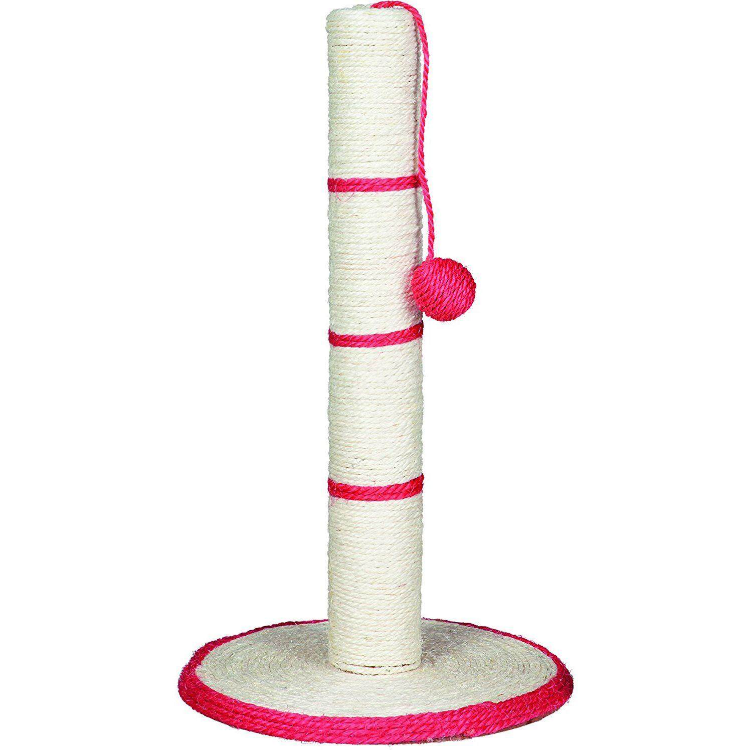 Cat Tree - Pole Scratcher With Ball (toy) - Random Color By Lovefreebuy.