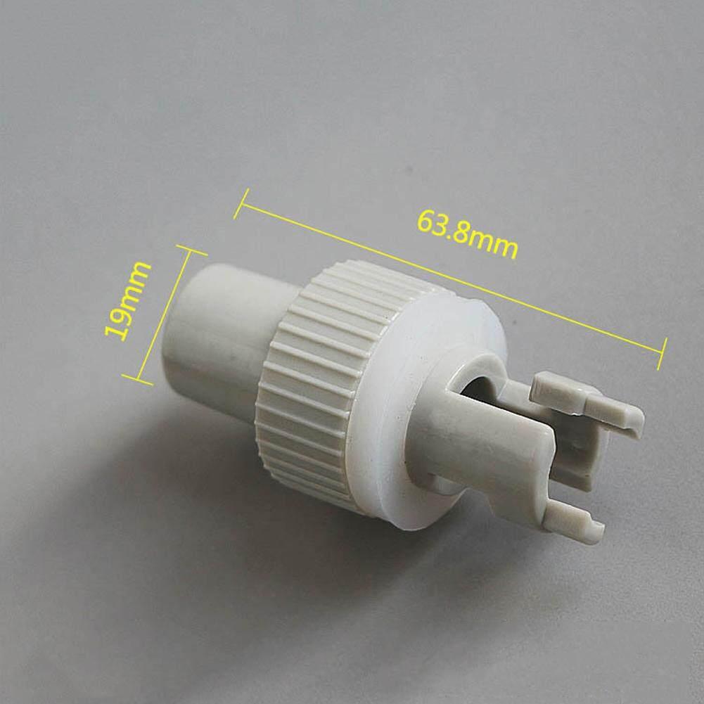 NHỰA PVC Kích Thước Mini Bơm Hơi Bơm Chân Thay Thế Linh Hoạt Cho Thuyền Kayak Thuyền Van Adapter - 2