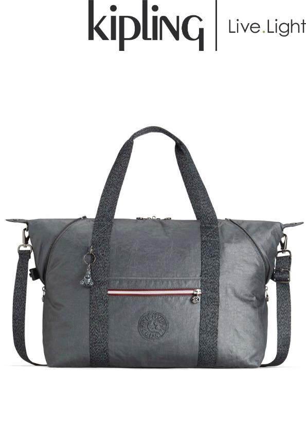 KIPLING ART M PLAY Mistic Grey - Medium Tote  Soft Luggage  Ladies Casual  Sports d136c4fb15
