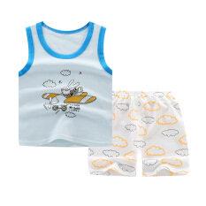 Mùa Hè Mới Bé Trai Quần Áo Trẻ Em Ngắn Tay Áo T-shirt Tops Quần Set Trẻ Sơ Sinh Toddler Trai Trang Phục Quần Áo