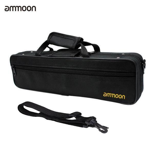 ammoon 16 Holes C Flute Bag Water-resistant 600D Foam Cotton Padding Malaysia