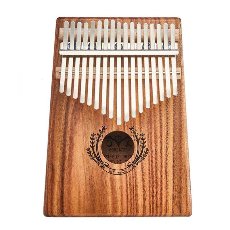 Hanks Mall 17 Key Kalimba Thumb Piano Kids Adults Body Music Finger Percussion Keyboard(Lily of the Valley) Style:Lily of the valley Malaysia