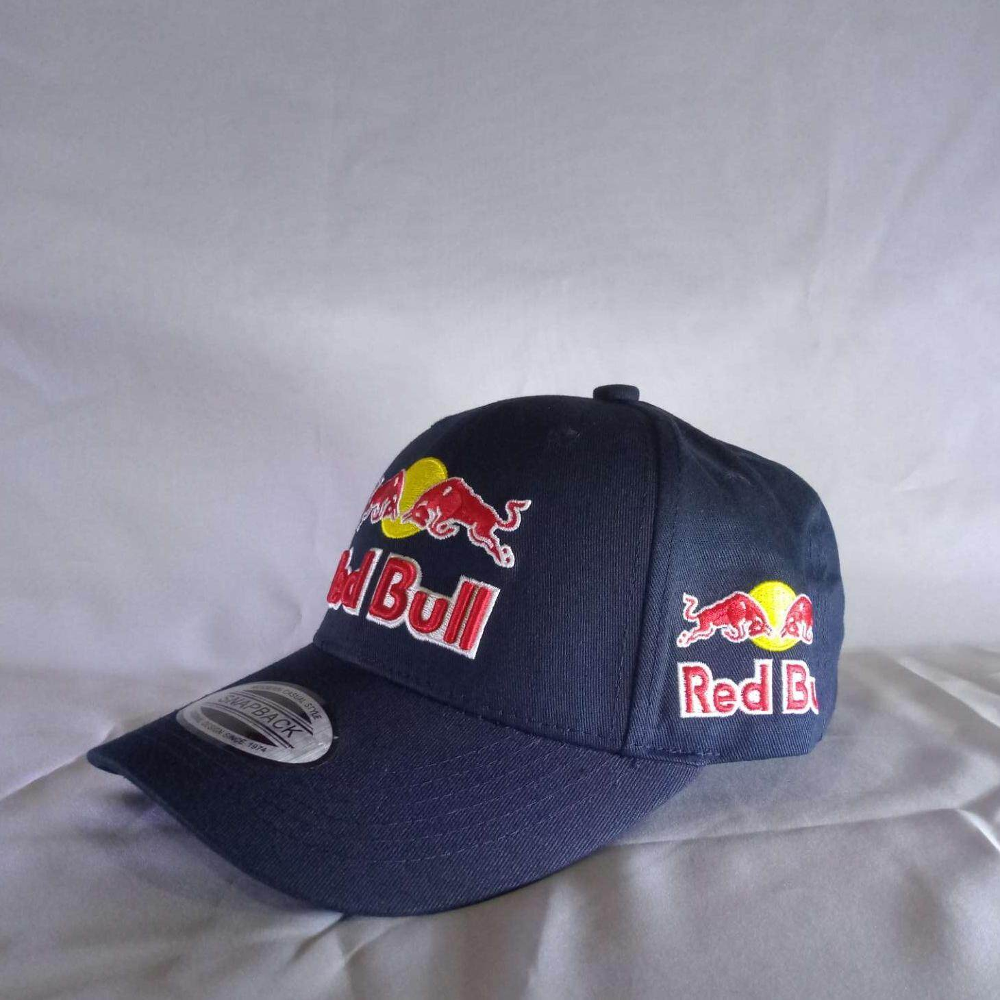 e805220f Red Bull Curved Adjustable Cap - Blue