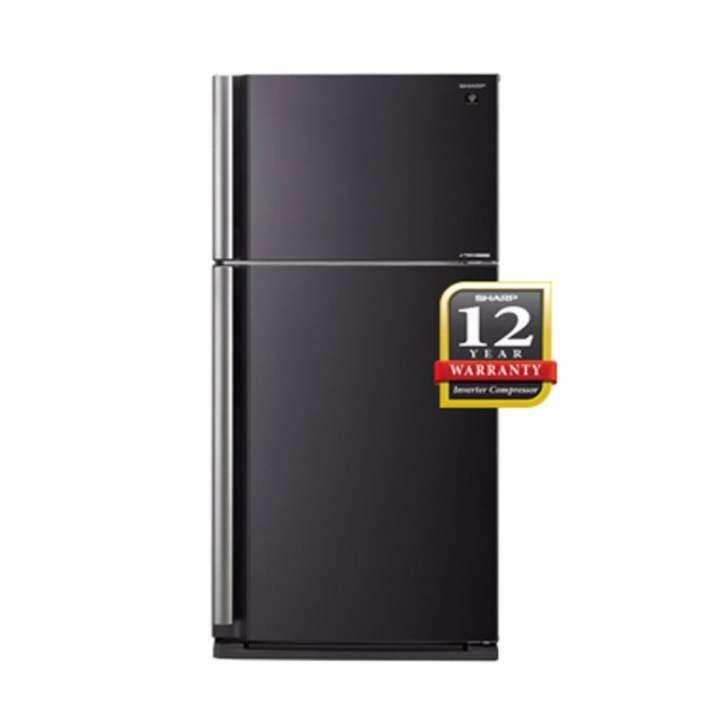 Sharp 2 Door 650 Litres Refrigerator SHP-SJP635MBK