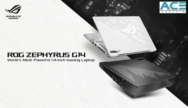 Asus ROG Zephyrus G14 GA401I-VHE378T / GA401I-VHE379T Ultra-Slim Gaming Notebook (Ryzen 9-4900HS/16GB DDR4/1TB PCIe/RTX2060 Max-Q/14FHD/Win10) Malaysia