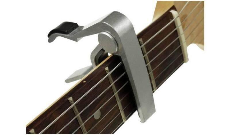 Elegant Silver Guitar Capo Malaysia