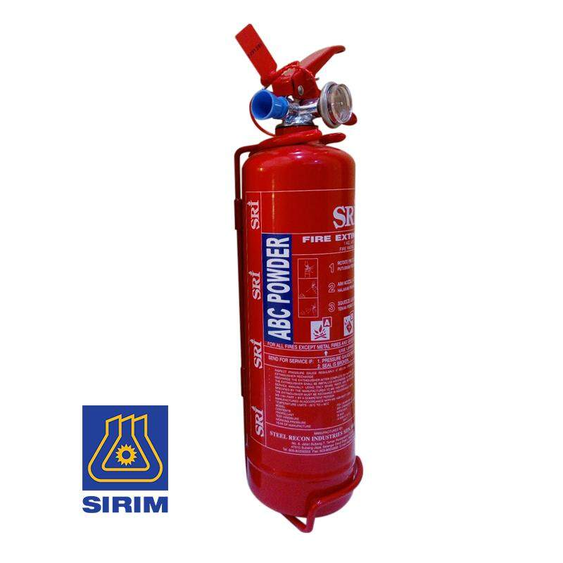 Ezspace Sri 1kg Abc Dry Powder Fire Extinguisher (sirim Approved) For Vehicles And Household Pemadam Api By Ezspace.