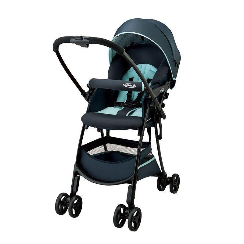 GRACO (Greco) lightweight high seat stroller Shitigo Citi Go Holden blue BL [3.9kg & plenty of storage under the basket of surprise] 2032971 Singapore