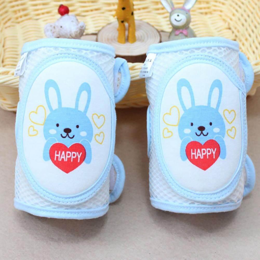 Dual Purpose Safety Protection 2Pcs Baby Crawling Knee Pads Toddler Anti-Slip Elbow Pads