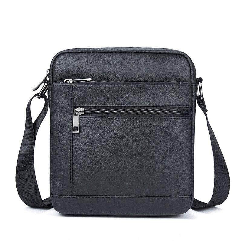Messenger Bag Men Genuine Leather Shoulder Bag Mens Flap Male Leather Small Ipad Holder Crossbody Bags for men naturally