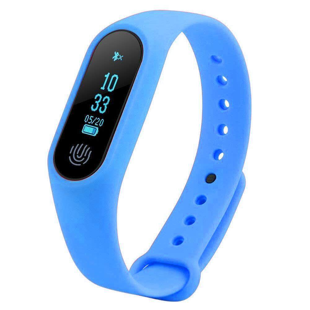 READY STOCK Unisex M2 Smart Monitor Heart Rate Pedometer Health Sports  Fitness Tracker Digital Wristband Bracelet