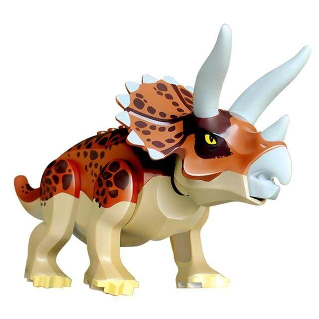 Indominus Rex DIY Blocks Dinosaurs Tyrannosaurus Rex Tiny Models Building Block