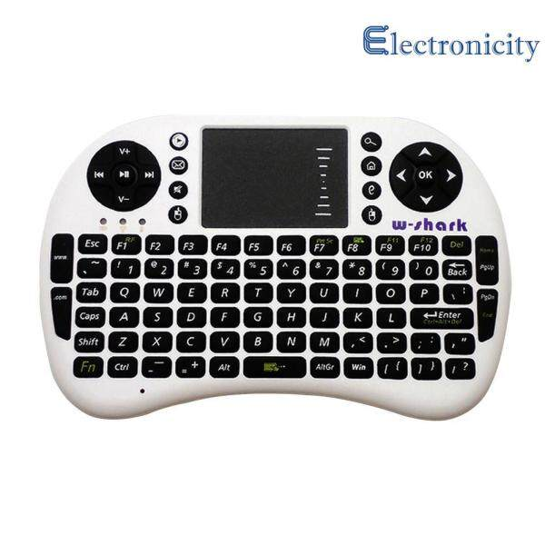 Mini 2.4G Wireless Fly Air Mouse 92-Key Keyboard Touchpad Singapore
