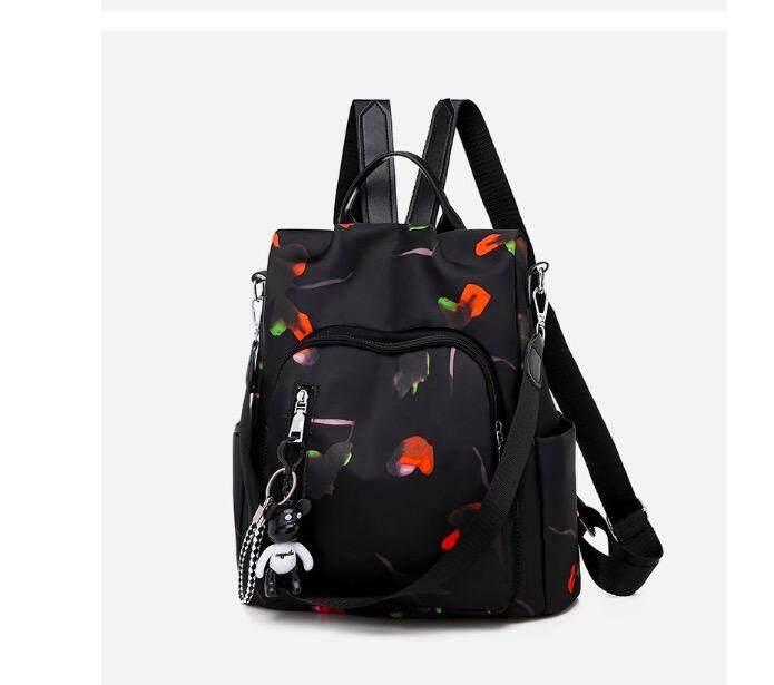 HushGecko Fashion Floral Women Backpack School bag for Teenagers Ladies Girls Back Pack School Bags Bagpack