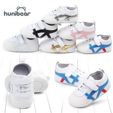 【Hunibear】Newborn Giày Em Bé Mùa Xuân Mùa Hè Bông Mềm Chống Trượt Toddler Trẻ Sơ Sinh Trai Cô Gái Sneakers