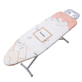 140x50CM Fabric Marbling Ironing Board Cover Protective Press Iron Folding for Ironing Cloth Guard Protect Delicate Garment Easy Fitted thumbnail