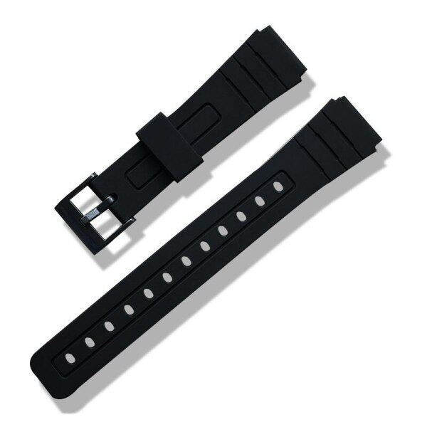 Practical and versatile 16mm 18mm 20mm Silicone Watch Strap Band Women Men Black Sport Diving Rubber Watchbands Buckle For Casio Watch Accessories Malaysia