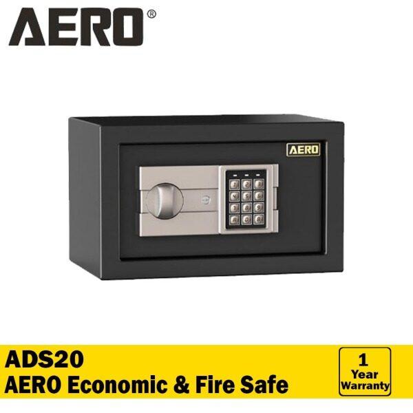 AERO Home & Office Digital Safety Auto Lock Dual Lock Super Metal Safe Box -  ADS20