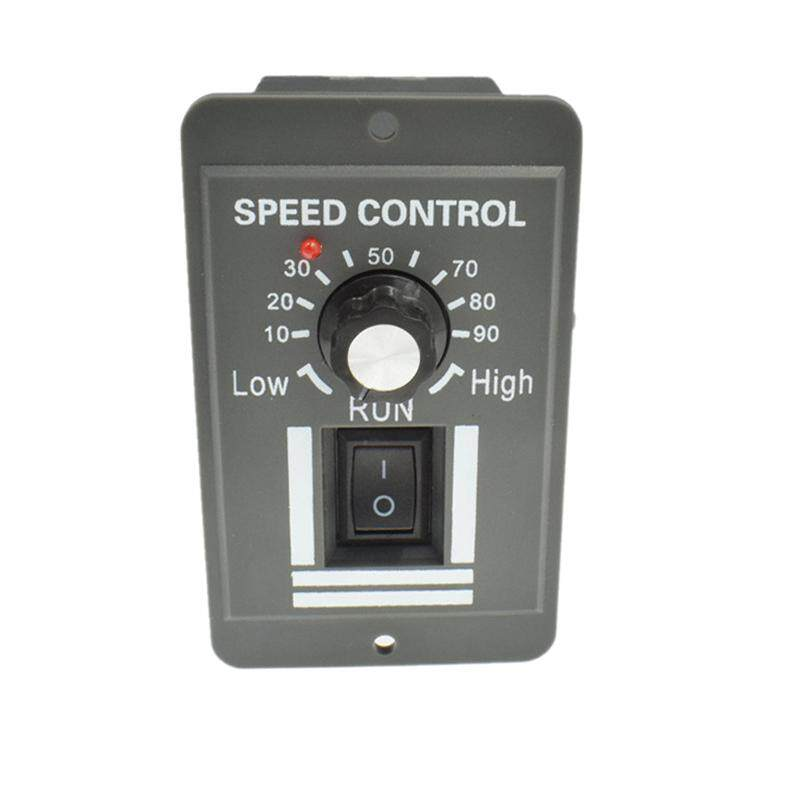 12V 24V 36V 48V 6A Dc Motor Speed Controller Adjustable Reducer Control Switch with Shell