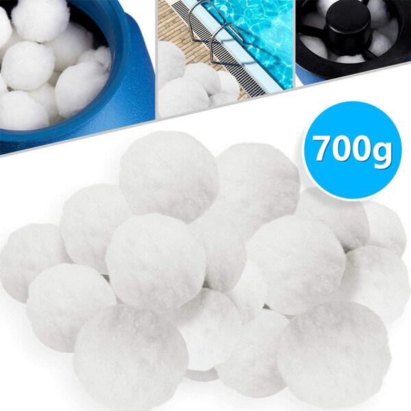 Bể lọc Balls EcoFriendly fiber Filter Media đối với bộ lọc cát hồ bơi