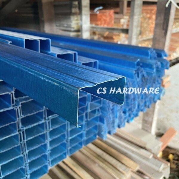 5ft - (59) C Channel Biru   Batten Blue Besi Bumbung C Besi Bumbung V
