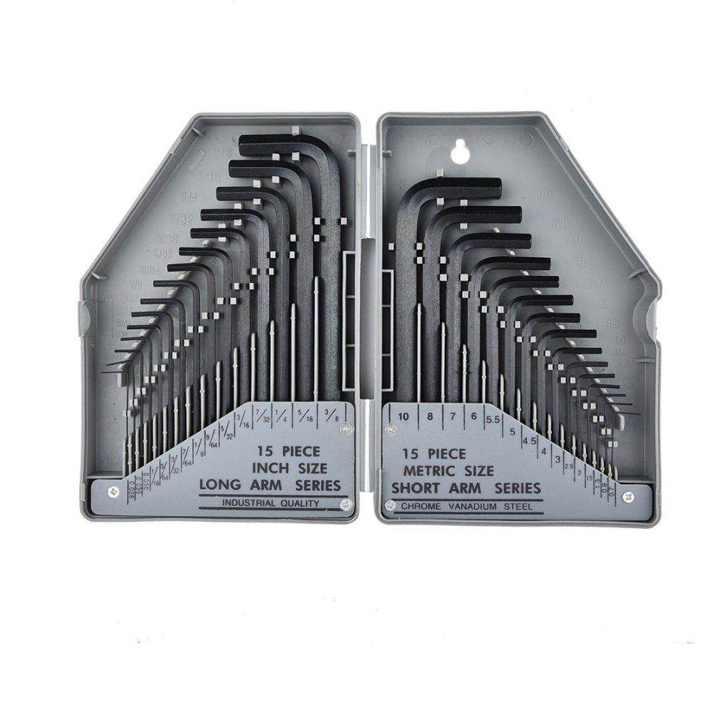 Hot Sales 30pcs/set Hex Key Wrench Set Allen Key Set Precise Manual Tool For Repair By Befubulus.
