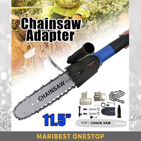 "11.5"" Electric Chainsaw Stand Adaptor Bracket Attachment 1 Set Installation Free"