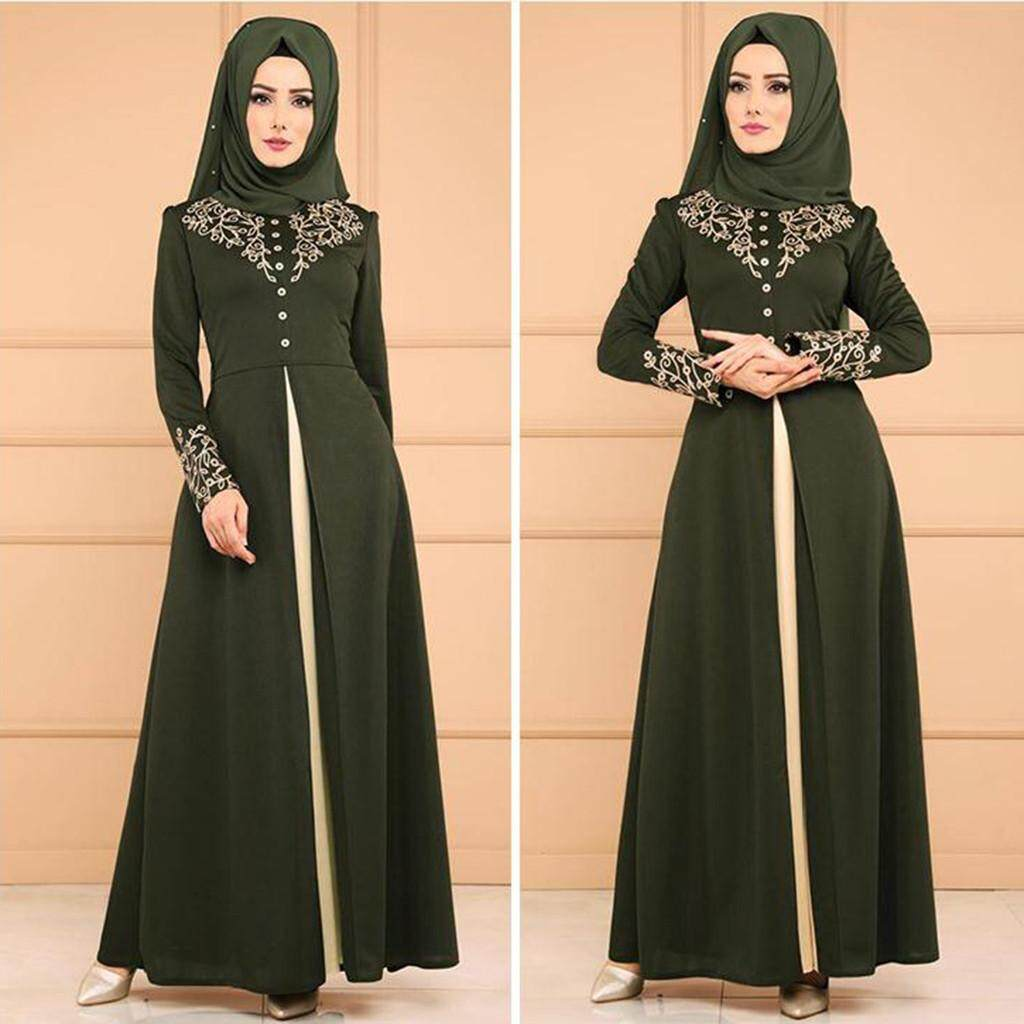 7fefb6ae06fa4 Muslim Dresses for sale - Muslim Women Dress Online Deals & Prices ...