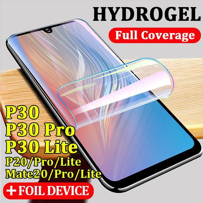 9D Full Coverage Hydrogel Film For Huawei P30 Pro Lite Crystal Clear Screen Protector For Huawei
