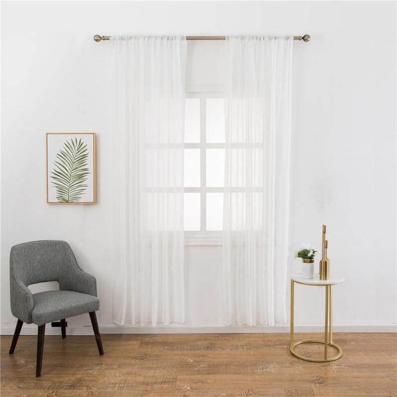 Rèm Vải Tuyn Mỏng Tinh Khiết Hiện Đại, Rèm Cửa Sổ Phòng Khách Phòng Ngủ