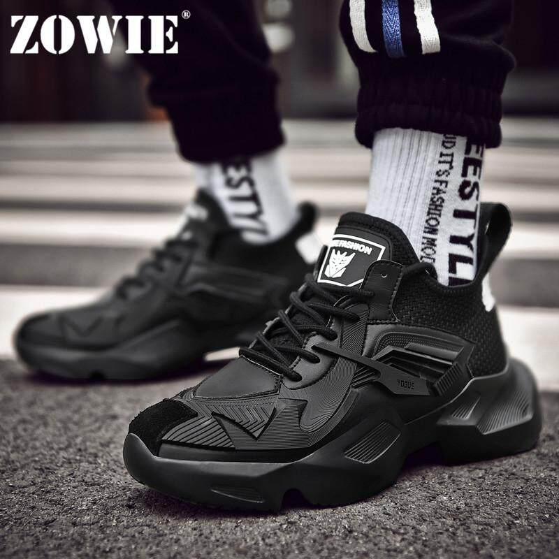 e8211f8b0 ZOWIE 2019 Summer New Men'S Sneakers Outdoor Sports Super Thick Soles Casual  Shoes
