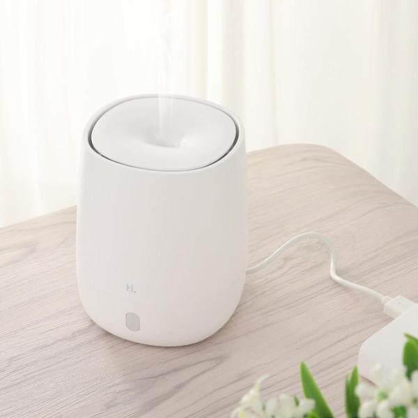 Xiaomi HL Máy phun sương mini có thể dùng để khuếch tán tinh dầu tạo độ ẩm có cổng cắm USB tiện lợi dịch chuyển mọi nơi, máy tạo sương không gây tiếng ồn, có đèn ngủ có thể đặt trong xe hơi phù hợp dùng cho gia đình, văn phòng, khi