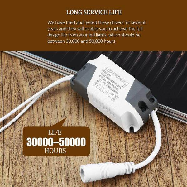 ELEC Non-Dimmable LED L*ght Lamp Driver Transformer p*wer Supply 18W Assure Strip L*ght p*wer External DC Connector Driver