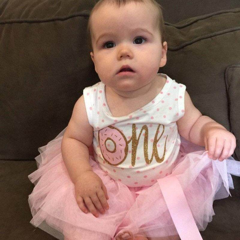 1st 2nd 3rd Birthday Dress Toddler Baby Girl Princess Tutu Dresses Party Outfits
