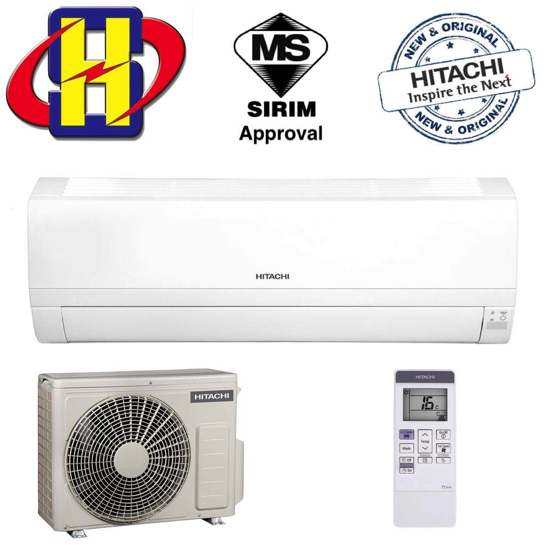 Hitachi RAS-EH10CKM Standard Series (R32) 1.0HP Air Conditioner