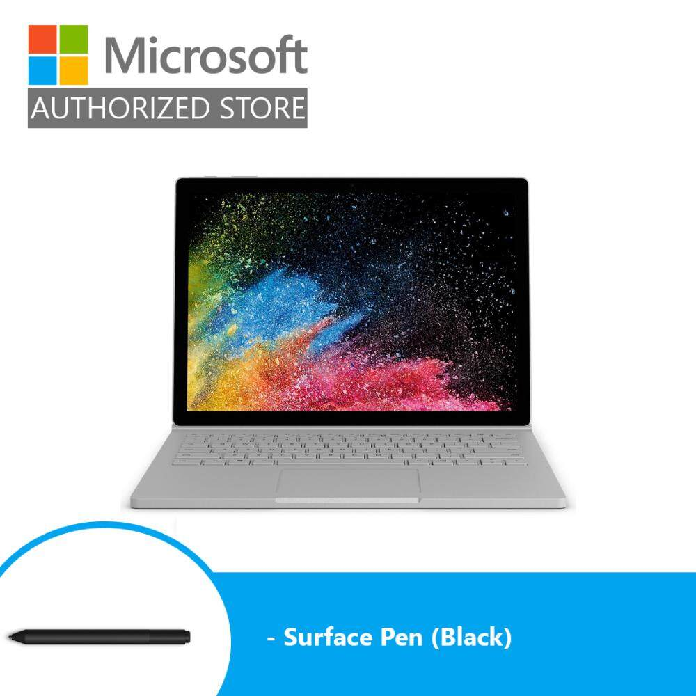 [BUNDLE] Microsoft Surface Book 2 13-inch (i5/8GB/256GB) + Pen (Black) Malaysia